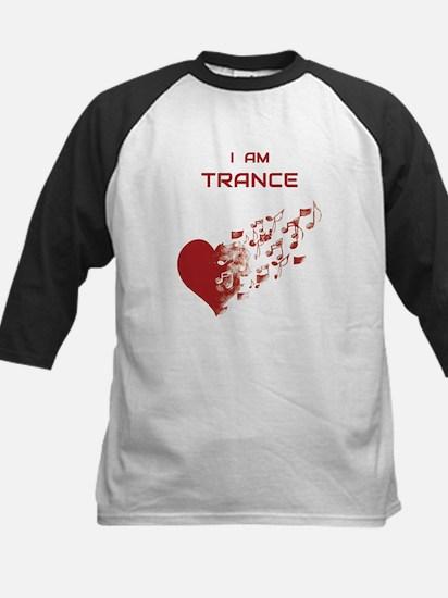 I am Trance Heart Baseball Jersey