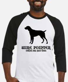 German Wirehaired Pointer Baseball Jersey