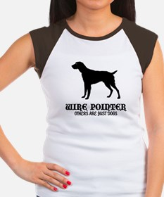 German Wirehaired Pointer Women's Cap Sleeve T-Shi
