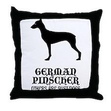 German Pinscher Throw Pillow