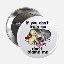 """Train me 2.25"""" Button (10 pack)"""