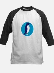 Adelie Penguin Circle Retro Baseball Jersey