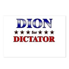 DION for dictator Postcards (Package of 8)
