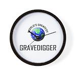 World's Greatest GRAVEDIGGER Wall Clock
