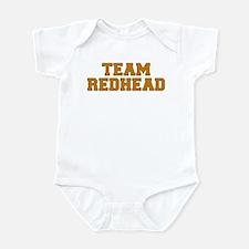 Team Redhead - Orng/Grn Infant Bodysuit