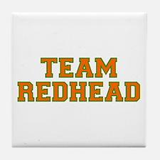 Team Redhead - Orng/Grn Tile Coaster