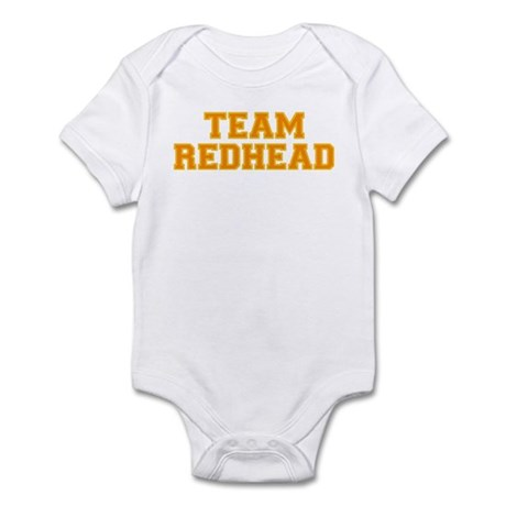 Team Redhead - Orng/Gold Infant Bodysuit