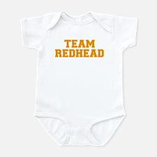 Team Redhead - Orng/Gold Infant Bodysuit