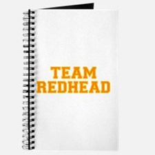 Team Redhead - Orng/Gold Journal