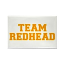 Team Redhead - Orng/Gold Rectangle Magnet