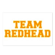 Team Redhead - Orng/Gold Postcards (Package of 8)