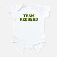 Team Redhead - Grn/Orng Infant Bodysuit