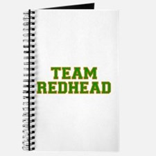 Team Redhead - Grn/Orng Journal