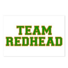 Team Redhead - Grn/Orng Postcards (Package of 8)