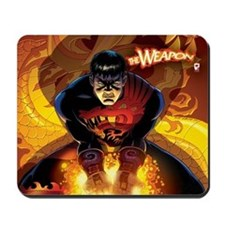THE WEAPON Mousepad