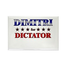 DIMITRI for dictator Rectangle Magnet