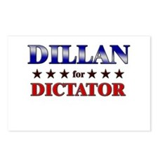DILLAN for dictator Postcards (Package of 8)