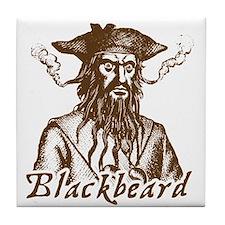 Blackbeard Tile Coaster