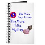 The More Boys, I Like My Dog Journal