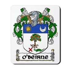 O'Beirne Coat of Arms Mousepad