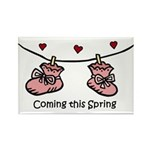 Coming this Spring Rectangle Magnet (10 pack)