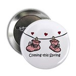 """Coming this Spring 2.25"""" Button (10 pack)"""
