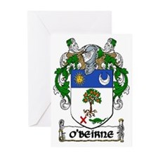 O'Beirne Coat of Arms Greeting Cards (Pk of 10)