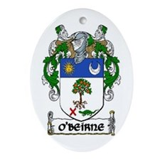 O'Beirne Coat of Arms Ornament (Oval)