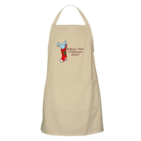 Baby's First Christmas 2007 BBQ Apron