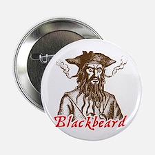 """Red Blackbeard 2.25"""" Button"""