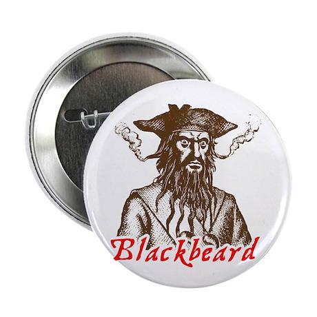 """Red Blackbeard 2.25"""" Button (100 pack)"""