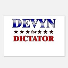 DEVYN for dictator Postcards (Package of 8)