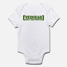 Redhead Tattered - 100% Athntc Infant Bodysuit
