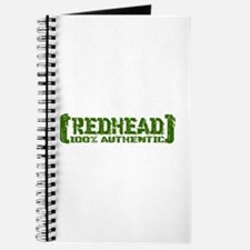 Redhead Tattered - 100% Athntc Journal