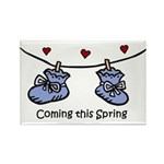 Coming this Spring Rectangle Magnet