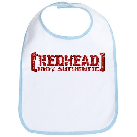 Redhead Tattered - 100% Athntc Bib