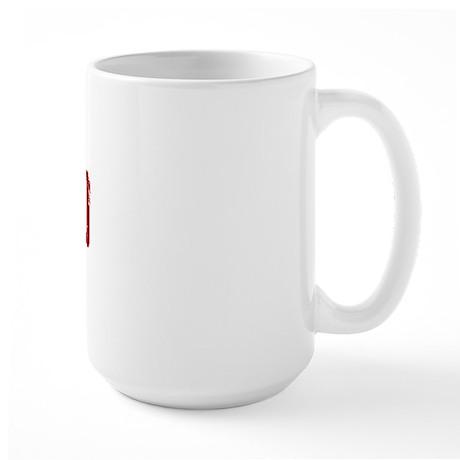 Redhead Tattered - 100% Athntc Large Mug