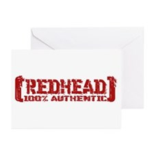 Redhead Tattered - 100% Athntc Greeting Cards (Pk