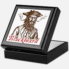 Red Blackbeard Keepsake Box