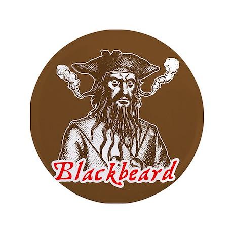 """Red Blackbeard 3.5"""" Button (100 pack)"""