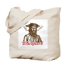 Red Blackbeard Tote Bag