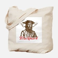 Red Blackbeard Tote Bag