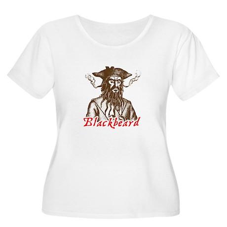 Red Blackbeard Women's Plus Size Scoop Neck T-Shir