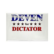 DEVEN for dictator Rectangle Magnet (10 pack)