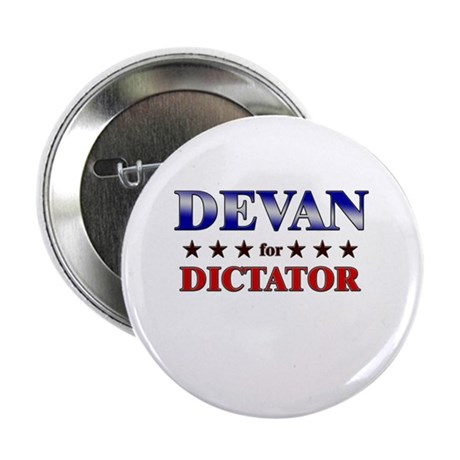 "DEVAN for dictator 2.25"" Button (10 pack)"