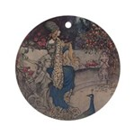 Warwick Goble's The She Bear Ornament (Round)