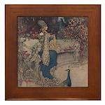Warwick Goble's The She Bear Framed Tile