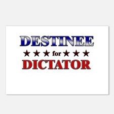 DESTINEE for dictator Postcards (Package of 8)