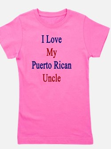 Unique Puerto rican pride Girl's Tee
