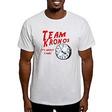 Team Kronos Ash Grey T-Shirt